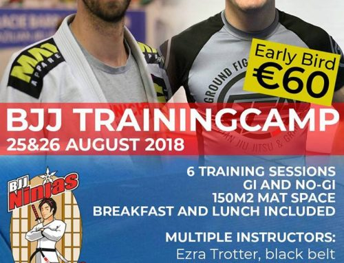 BJJ trainingskamp 25+26 augustus 2018