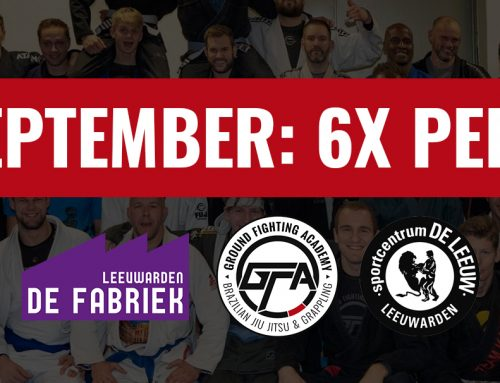 We gaan uitbreiden! 6 dagen per week BJJ training!